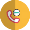 Substract-phone-folded icon