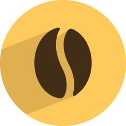 Coffee bean Icon | Food & Drinks Iconset | GraphicLoads