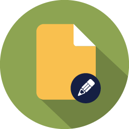 document edit icon
