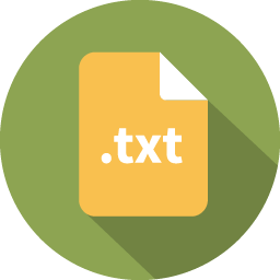 Document filetype text icon
