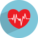 Heart beat icon
