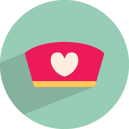 Medical cap icon