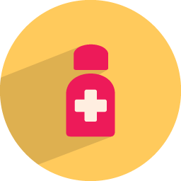 Medicine bottle icon