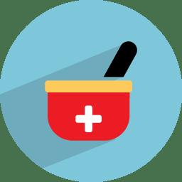 medicine bowl icon