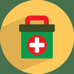 Medicine box icon