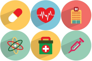 Medical Health Iconset (36 icons) | GraphicLoads