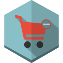 Cart-remove icon