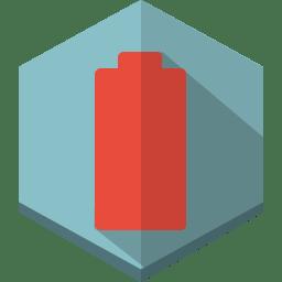 battery 000 empty icon