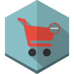 cart remove icon