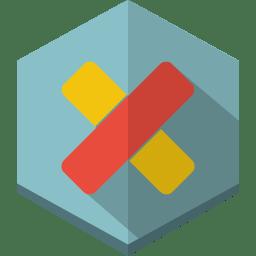 cross 2 icon