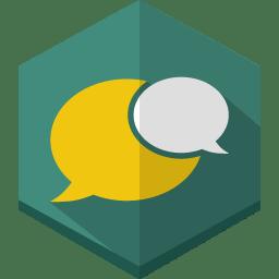 Msg bubbles icon