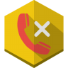 Call-rejected icon
