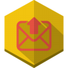 Upload-mail icon