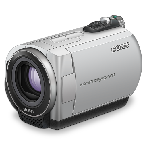 Sony handycam purple lens icon