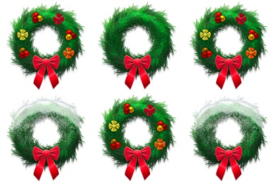Holiday Wreaths Icons