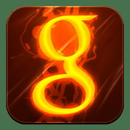 Google Icon | Hot Burning Social Iconset | GraphicsVibe