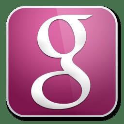 Google Icon Purple Glossy Social Iconset Graphicsvibe