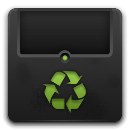 Trash empty 2 icon