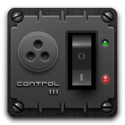 how to change control panel icon