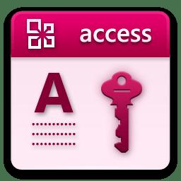 Microsoft Access iconMicrosoft Access Icon