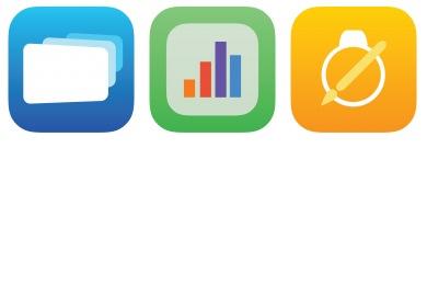 iWork Style 3 Icons