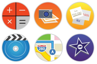 Stock Apps Part 2 Icons