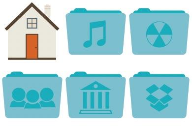 Stock Folder Icons