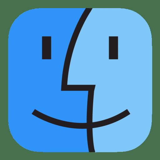 Finder icon stock style 3 iconset hamza saleem - Apple icon x ...
