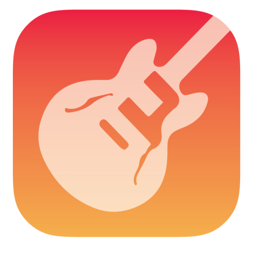 Garageband Icon Stock Style 3 Iconset Hamza Saleem