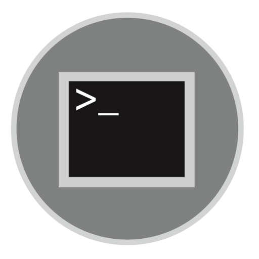 Terminal Icon | Mac Stock Apps Iconset | Hamza Saleem