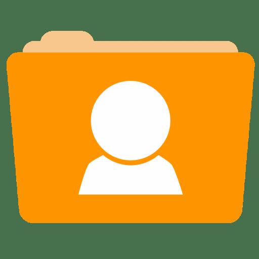 Folder-Users icon