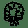 Wreath-mistletoe icon