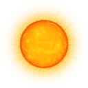 Sun icon