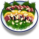 Katsuo Tataki Fish Plate icon