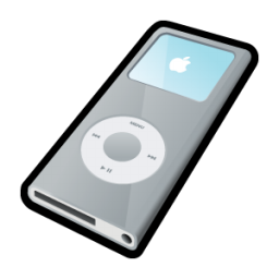iPod Nano Silver Icon | 3D Cartoon Vol. 2 Iconset | Hopstarter