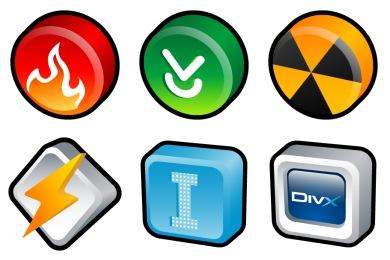 3D Cartoon Icons