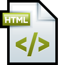 File Adobe Dreamweaver HTML 01 icon