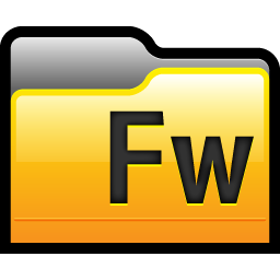 Folder Adobe Fireworks 01 icon
