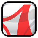 Adobe Acrobat Reader CS2 icon