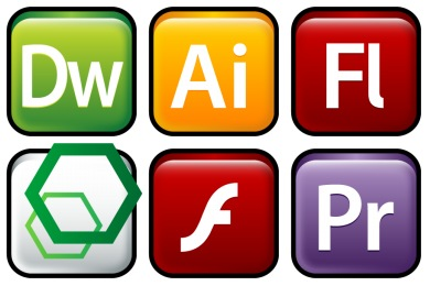 Adobe Family Icons