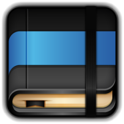 Moleskine Blue Book icon