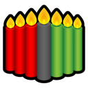 Kwanzaa Candles icon