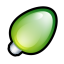 Christmas-Light-Green icon