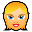 Female-Face-FE-1-blonde icon