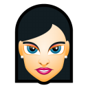 Female-Face-FH-3-slim icon