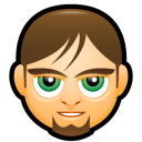 Male Face C5 icon