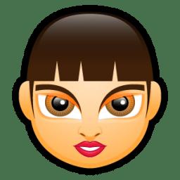 Female Face FA 3 icon