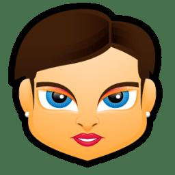 Female Face FB 4 icon