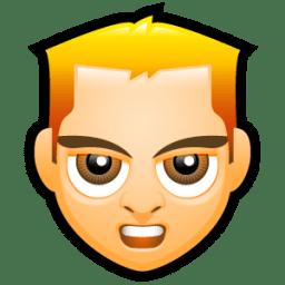 Male Face E1 icon