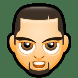 Male Face E3 icon